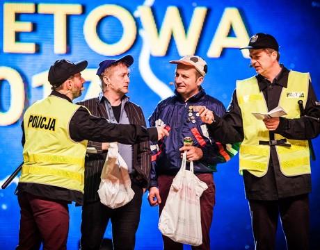 Polska Noc Kabaretowa 2017 - Kabaret Moralnego Niepokoju fot. Roman Rogalski