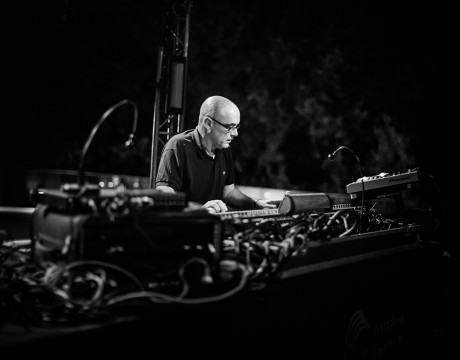 Siesta na tarasie: Adrian Sherwood fot Roman Rogalski