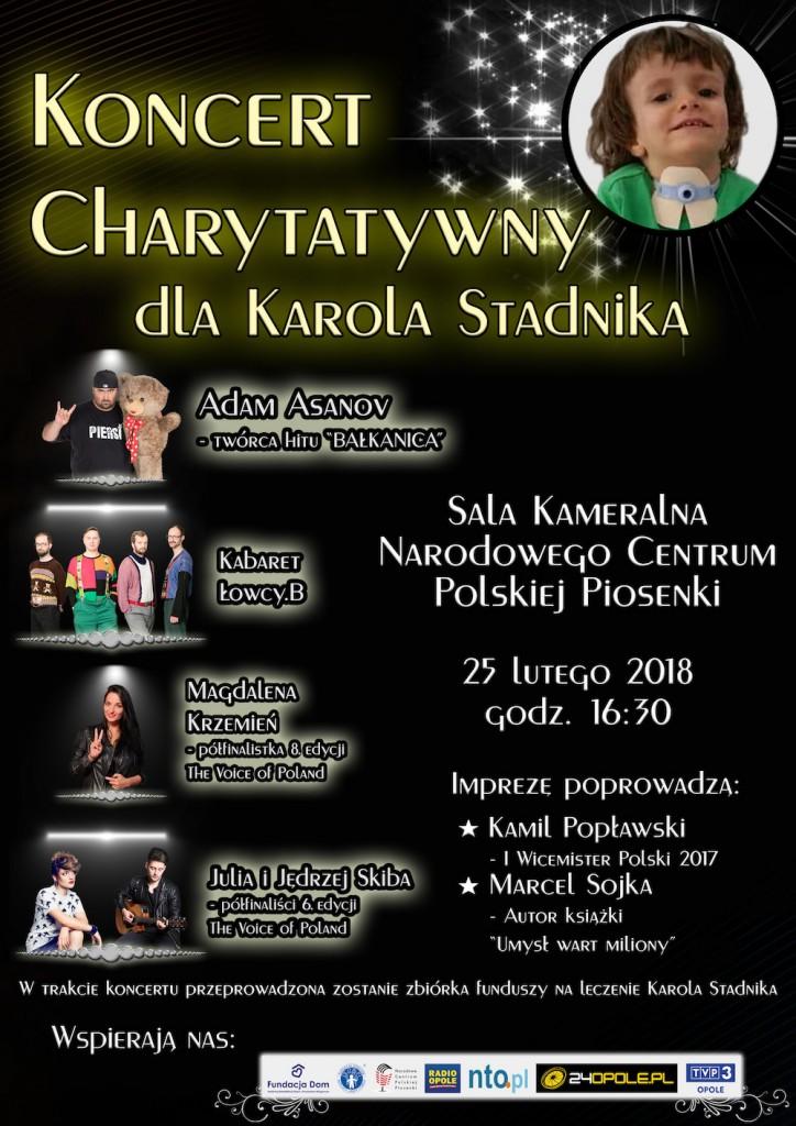 Karolek PLAKAT KONCERT 25.02