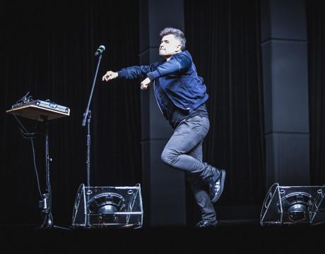 Igor Kwiatkowski - Polska Noc Kabaretowa 2019  fot. Roman Rogalski