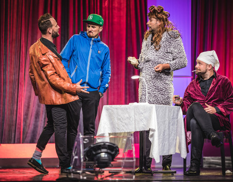 Kabaret Skeczów Męczących - Polska Noc Kabaretowa 2019  fot. Roman Rogalski
