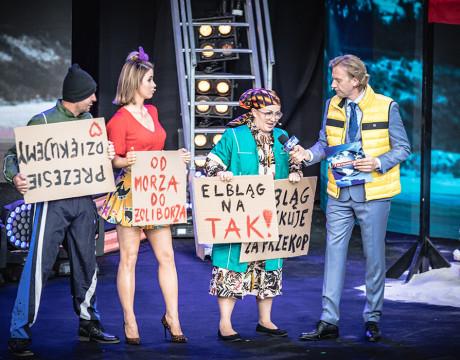 Opolska Noc Kabaretowa 2019 fot. Roman Rogalski