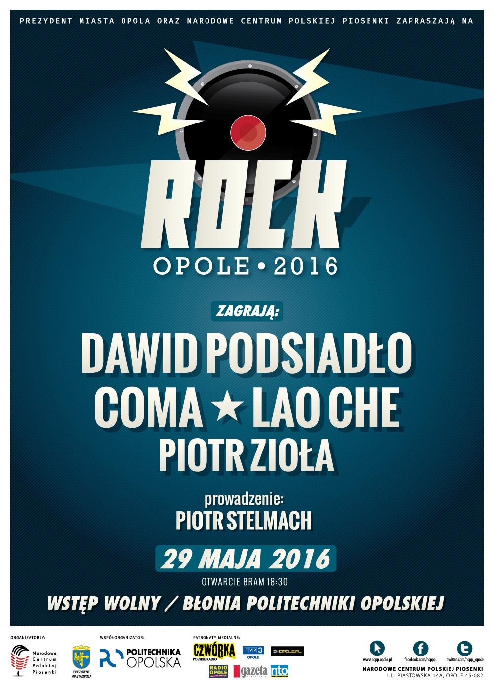plakat rock 2016