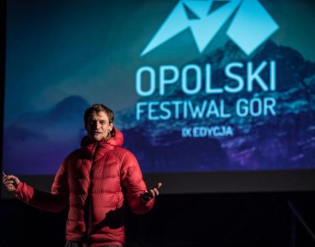 Adam Bielecki - IX OPOLSKI FESTIWAL GÓR fot. Roman Rogalski