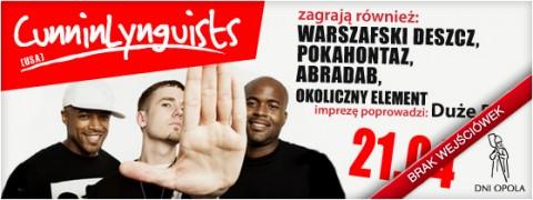 dni-opola-2012-cunninlynguists-warszafski-deszcz-pokahontaz-abradab-okoliczny-element-mocne-wersy-21-04-2012-start-1800